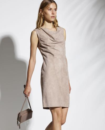 Ianthe Light Suede Dress 1010029312010
