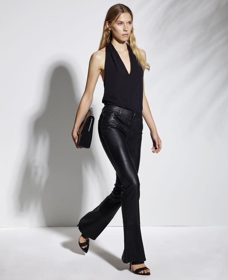 Azula Leather Stretch Pants 1010029252030