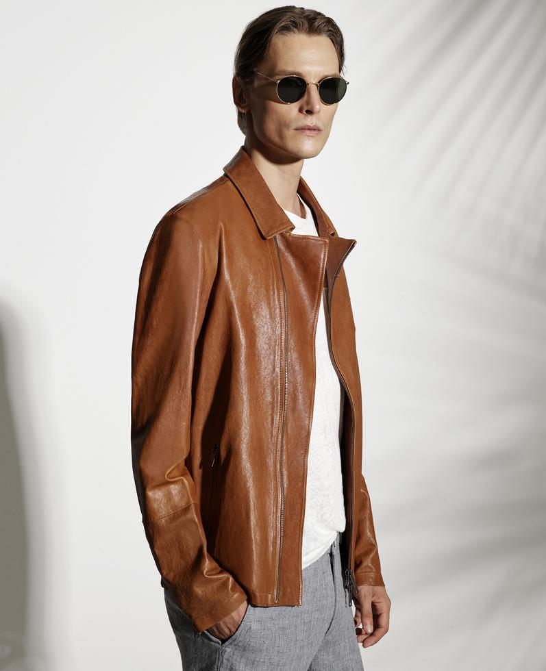 Enric Leather Jacket 1010029242004