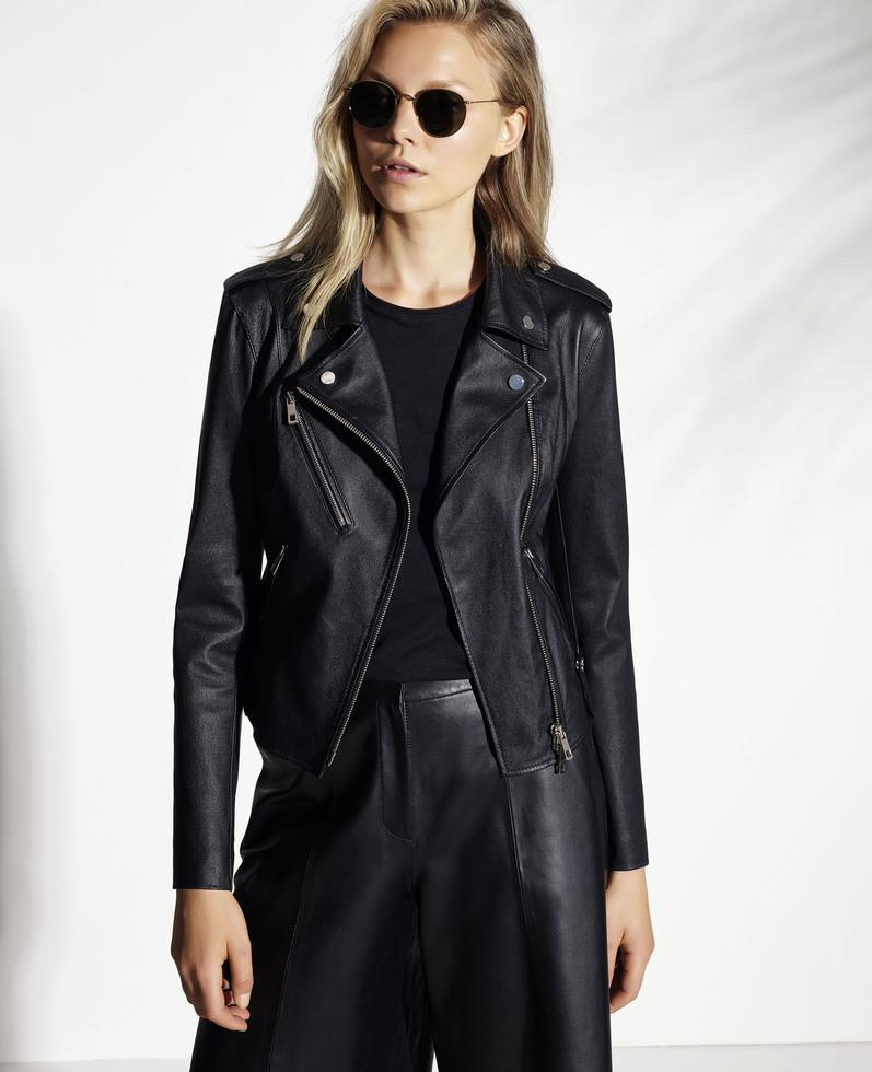 Helen Leather Jacket 1010029873006
