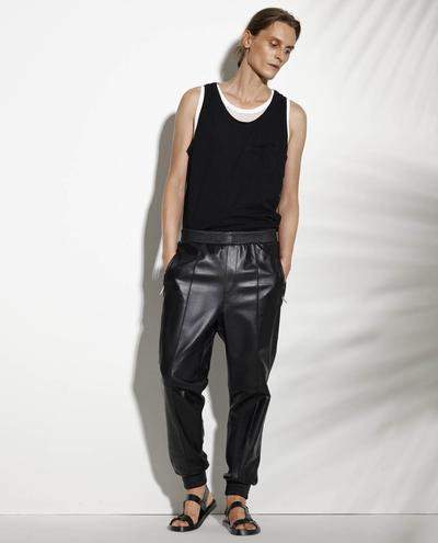 Uberto Leather Pants 1010029261067
