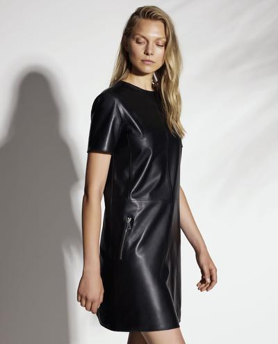 Larisa Leather Dress 1010029923041