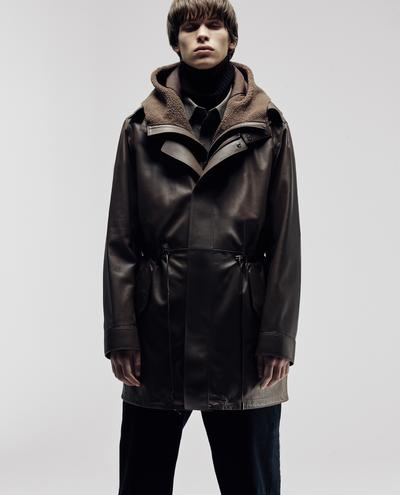 Marcos Leather Coat 1010030737008