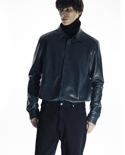 Vicente Leather Shirt 1010030749011