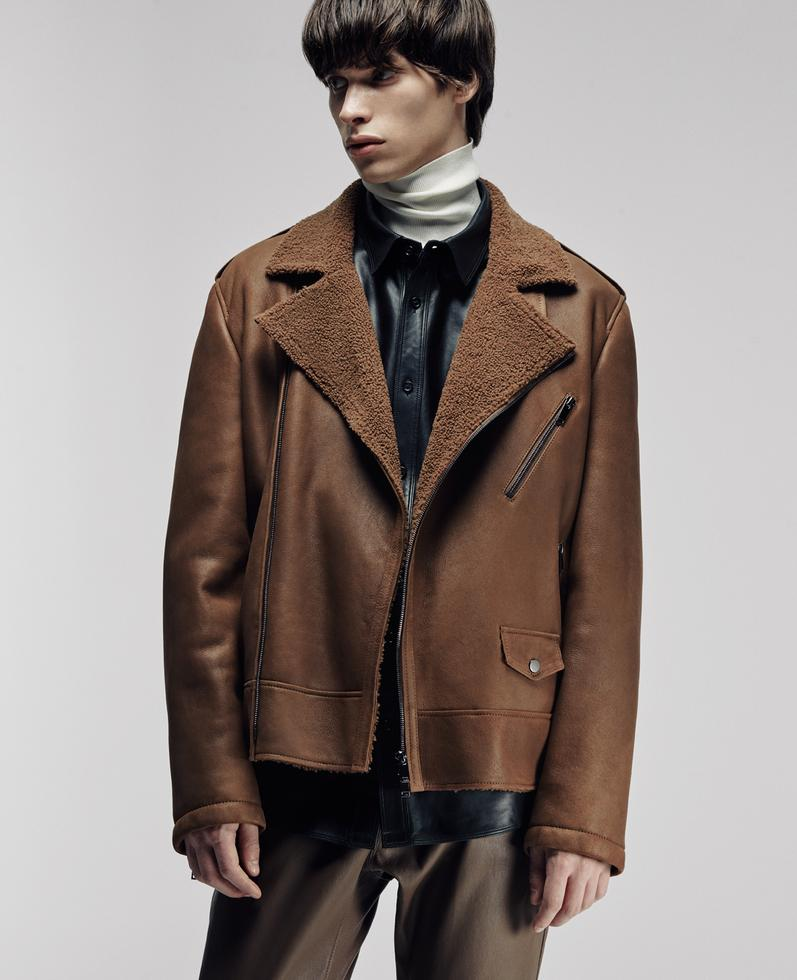 Attila Shearling Coat 1010030770056