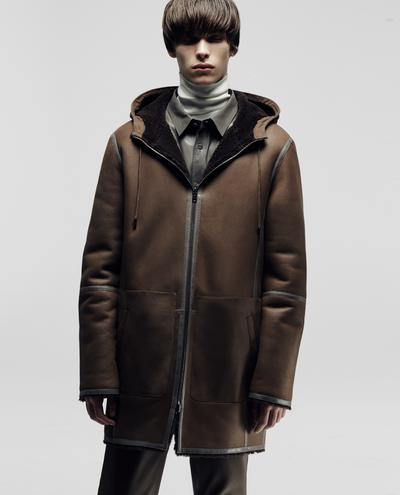 Paolo Shearling Coat 1010030768002