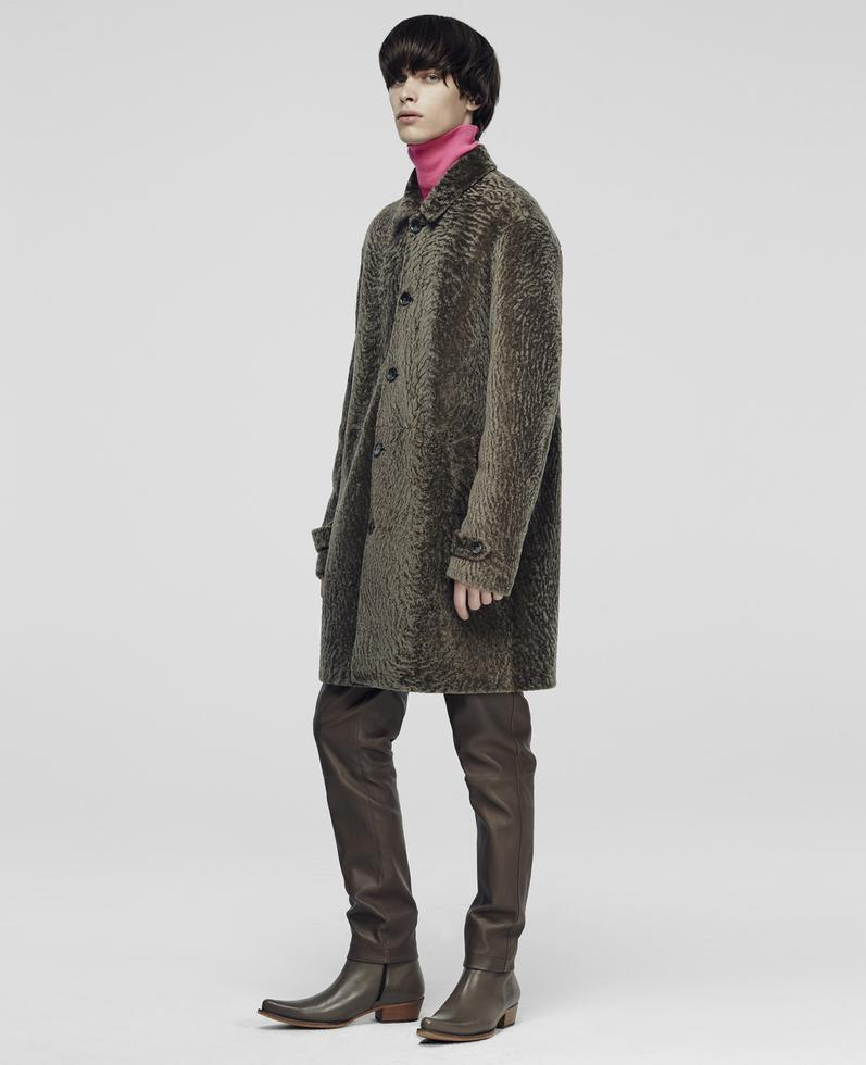 Woody Shearling Coat 1010031015003