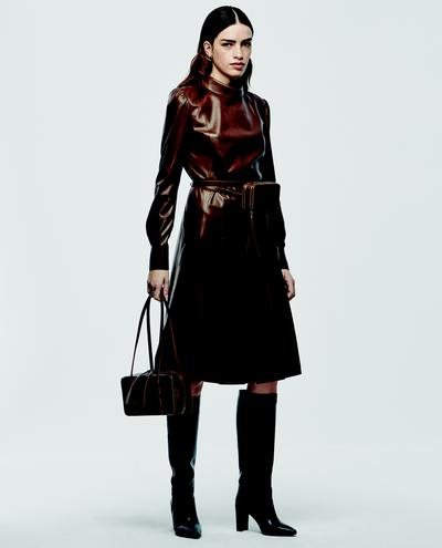 Judetta Leather Dress 1010030607062