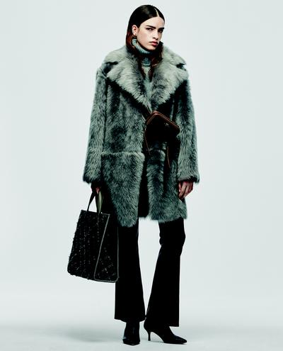 Angelica Shearling Coat 1010030641001