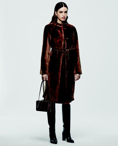 Venera Shearling Coat 1010030631004