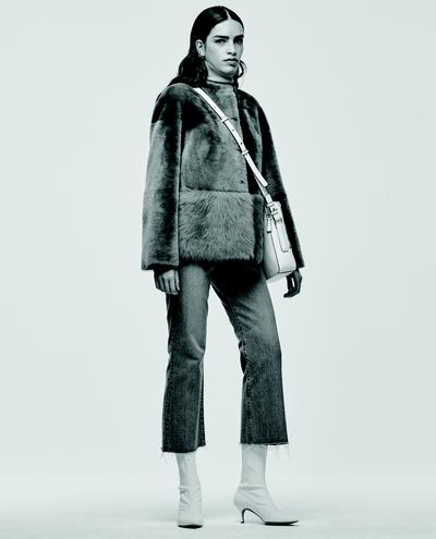 Paola Shearling Jacket 1010030632010