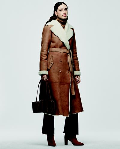 Arcelia Shearling Coat 1010030704006
