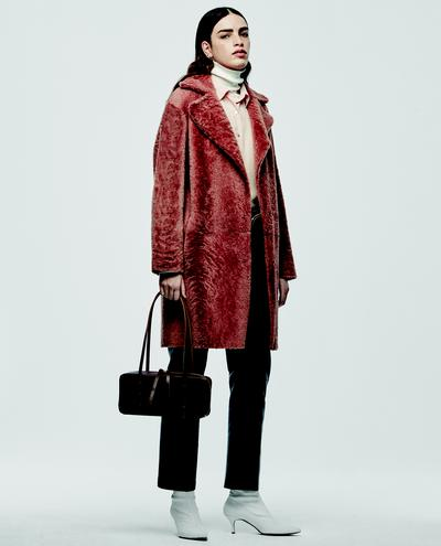 Victoria Shearling Coat 1010030640001