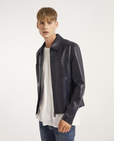 Marcos Leather Jacket | K12626 1010031037013