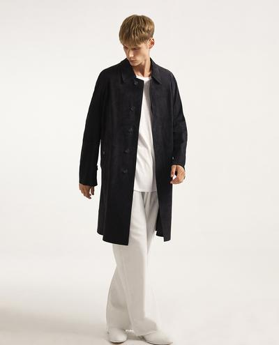 Arman Suede Trench Coat | K10955 1010031105015