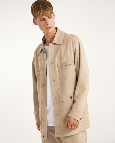 Virgilio Suede Jacket | K12646 1010031056006