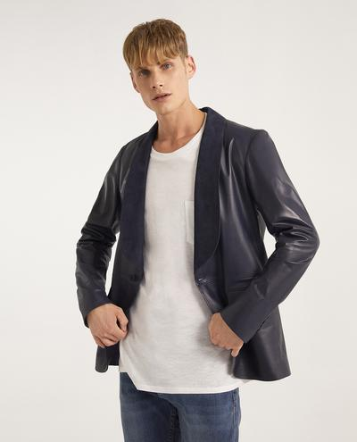 Merlin Leather Blazer | K12633 1010031039043