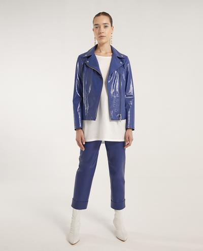 Lidia Leather Biker | K12731 1010031083042