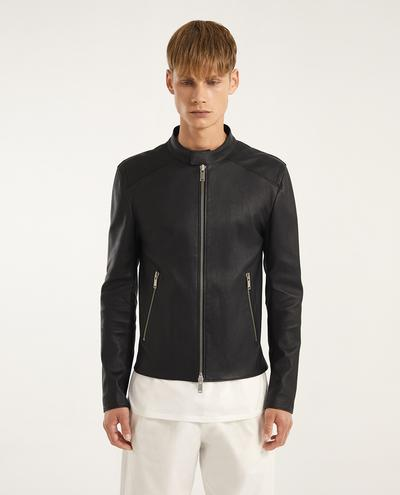 Michele Leather Biker | K10983 1010031106008