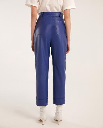 Alba Leather Pants | K12723 1010031093033