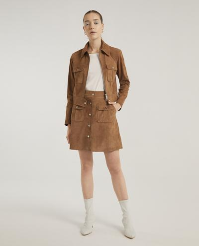 Veronika Suede Jacket | K12671 1010031061010