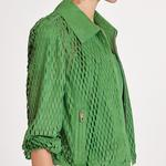 Echidna Perforated Suede Jacket | K12762 1010031301034