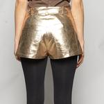 Penelope Leather Shorts 1010030624003